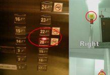 Cầu thang không có tầng 21