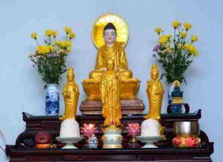 Bài văn khấn Phật tại gia và lưu ý khi thờ Phật