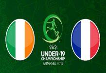 Dự đoán U19 Ireland vs U19 Pháp, 0h00 ngày 19/07