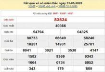 Thống kê KQXSMB- xổ số miền bắc ngày 01/06 chuẩn xác