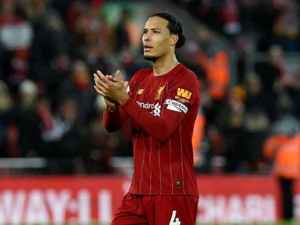 Liverpool trói chân Van Dijk