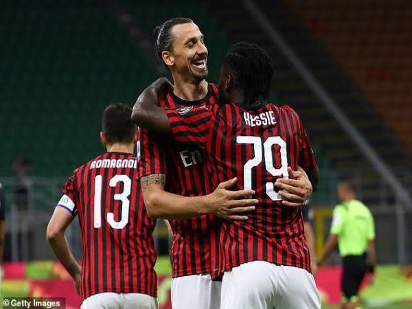 Lội ngược dòng AC Milan đánh bại Juventus