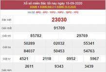 Thống kê XSMB 16/9/2020 chốt lô VIP miền Bắc thứ 4