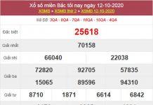Thống kê XSMB 13/10/2020 chốt lô VIP miền Bắc thứ 3