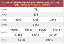 Thống kê XSHCM 16/11/2020 chốt số Hồ Chí Minh cùng chuyên gia