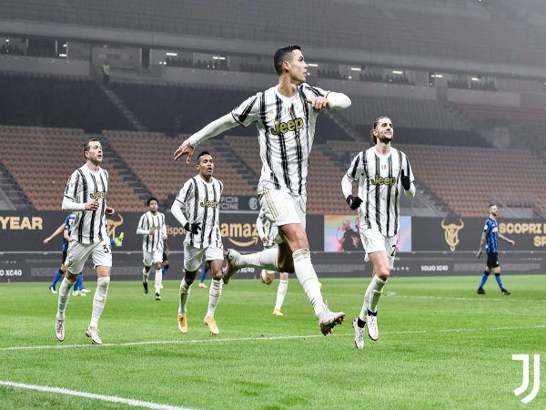Bóng đá QT chiều 3/2: Ronaldo lập cú đúp ở bán kết Coppa Italia
