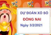 Dự đoán XSDN ngày 3/2/2021