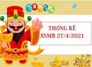 Thống kê chi tiết KQXSMB 27/4/2021