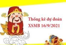 Thống kê dự đoán XSMB 16/9/2021